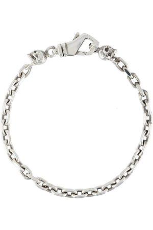 EMANUELE BICOCCHI Skull-charm chain bracelet