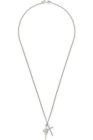 EMANUELE BICOCCHI Cross-pendant long necklace