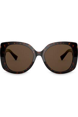 VERSACE Medusa Icon square-frame sunglasses