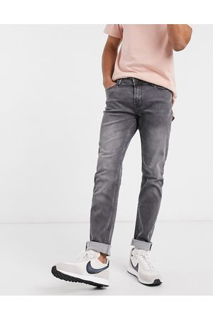 Only & Sons Stretch jeans in slim fit grey
