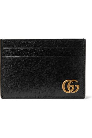 Gucci Homem Bolsas & Carteiras - GG Marmont Full-Grain Leather Cardholder with Money Clip