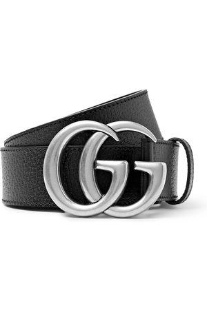 Gucci Homem Cintos - 4cm Full-Grain Leather Belt