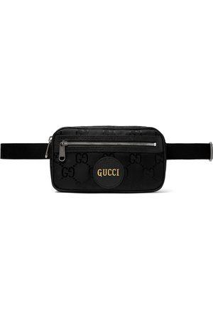 Gucci Off the Grid Leather-Trimmed Monogrammed ECONYL Canvas Belt Bag