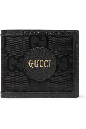 Gucci Homem Bolsas & Carteiras - Off the Grid Leather-Trimmed Monogrammed ECONYL Canvas Billfold Wallet