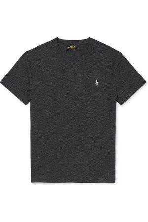 Polo Ralph Lauren Homem Pólos - Slim-Fit Mélange Cotton-Jersey T-Shirt