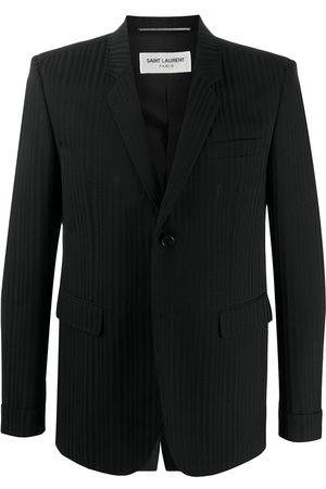 Saint Laurent Striped single-breasted suit jacket