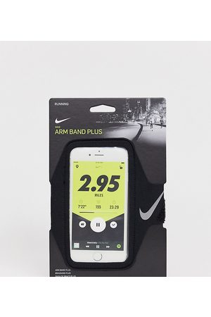 Nike Running Plus phone armband in black