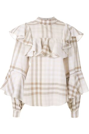 ALUF Ruffled Lana blouse
