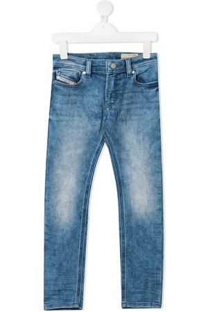 Diesel Straight leg faded jeans