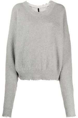 Unravel Project Slouchy knitted jumper