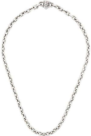 EMANUELE BICOCCHI Skull chain-link necklace