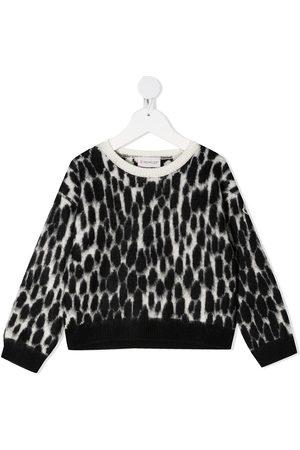 Moncler Animal print knit jumper
