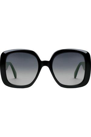 Gucci Senhora Óculos de Sol - Square-frame Web sunglasses