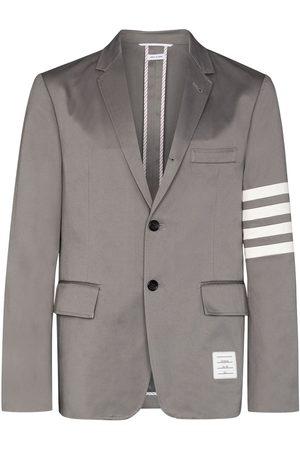 Thom Browne Homem Blazers - 4-bar stripe single-breasted blazer