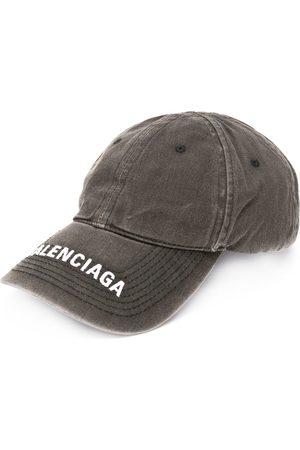 Balenciaga Homem Chapéus - Embroidered logo denim cap