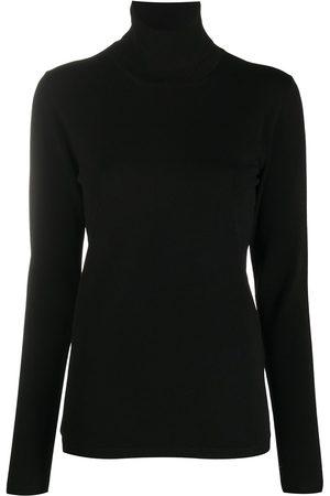 Stella McCartney Senhora Camisolas - Roll-neck knitted jumper