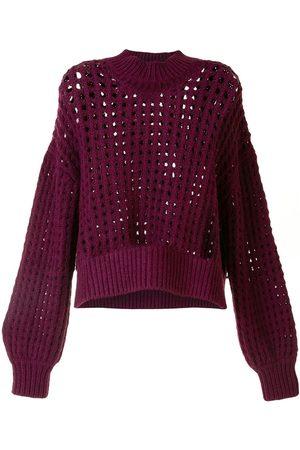 LHD Open knit sweater