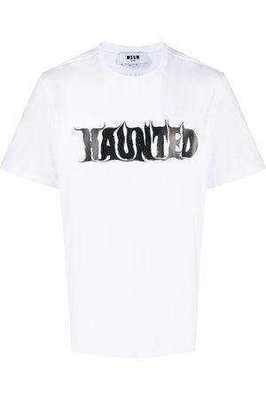 Msgm Haunted crew-neck T-shirt