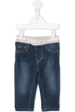 Levi's Elasticated logo band jeans