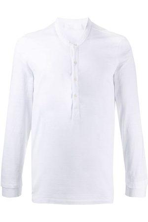 Neil Barrett Buttoned long-sleeve T-shirt