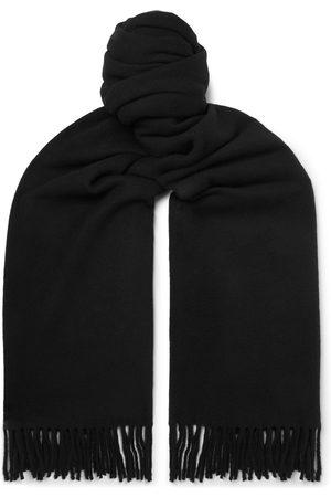 Acne Studios Oversized Fringed Wool Scarf