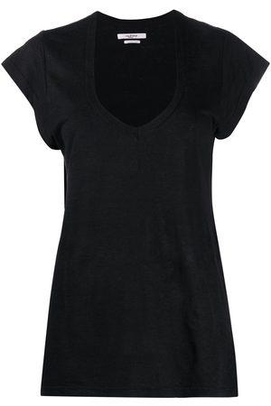 Isabel Marant Senhora T-shirts - U-neck longline T-shirt