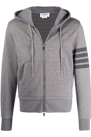 Thom Browne Cotton zip-up hoodie