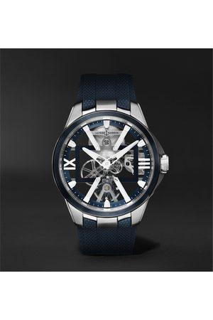 Ulysse Nardin Skeleton X Hand-Wound 42mm Titanium and Rubber Watch