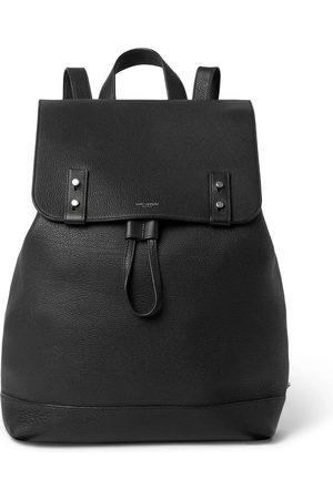 Saint Laurent Full-Grain Leather Backpack