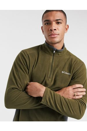 Columbia Klamath Range II 1/4 zip fleece in green