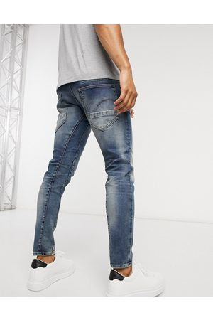 G-Star D-Staq 3D slim fit jeans in medium aged-Blue