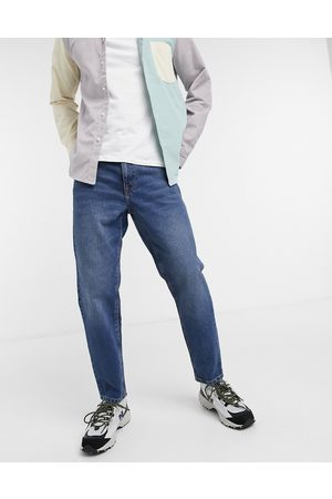 ASOS Classic rigid jeans in vintage dark wash blue