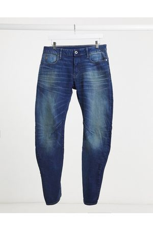 G-Star Arc 3D slim jeans in mid wash-Blue