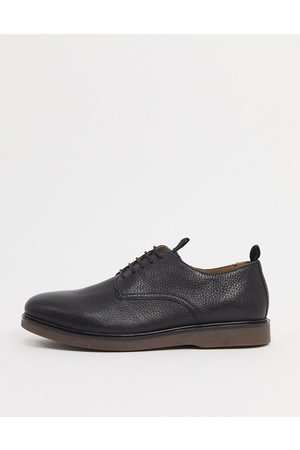 H by Hudson Barnstable lace up shoes in black leather