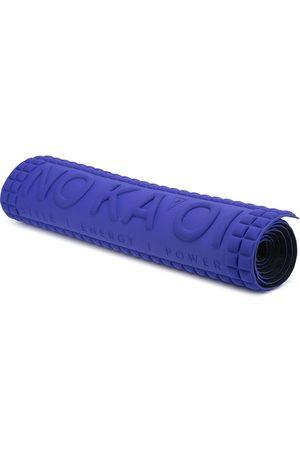 NO KA' OI Debossed-logo square yoga mat