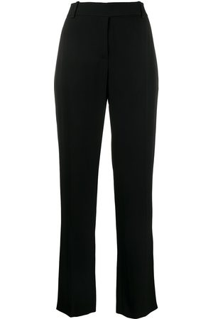VALENTINO High-waist straight-leg trousers
