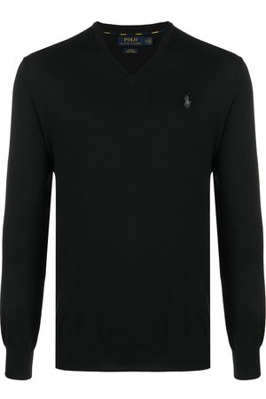 Polo Ralph Lauren Logo embroidered cotton jumper