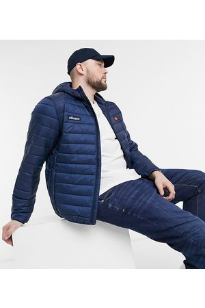 Ellesse PLUS padded lombardy jacket in navy