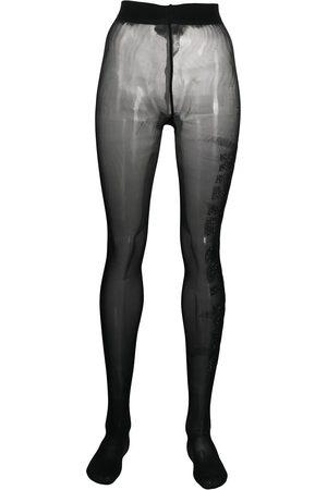 Philipp Plein Senhora Conjuntos de Lingerie - Gem-embellished tights