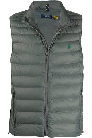 Polo Ralph Lauren Homem Coletes - Logo-embroidered quilted gilet