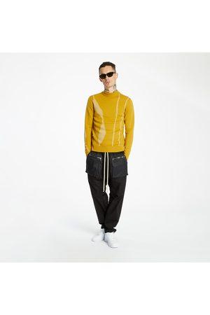 A-cold-wall* Terrain Jacquard Knit Jumper Saffron