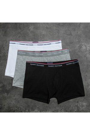 Tommy Hilfiger Homem Calções - 3 Pack Trunks Black/ Grey Heather/ White