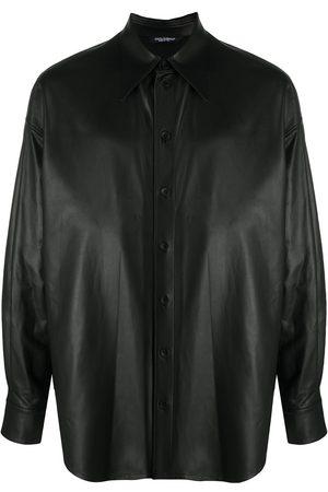 Dolce & Gabbana Lambskin button-down shirt