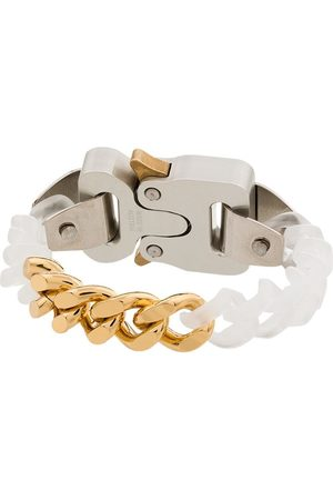 1017 ALYX 9SM Homem Pulseiras - Buckled chain-link bracelet