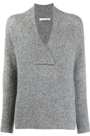 Fabiana Filippi V-neck knit jumper