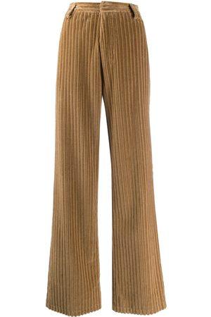Ami Wide leg corduroy trousers