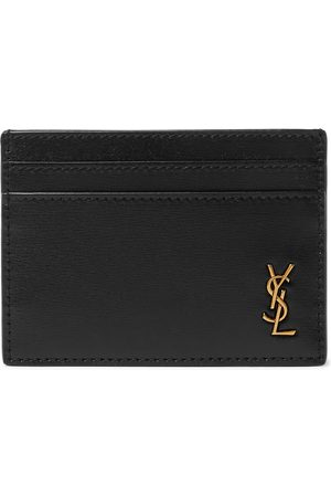 Saint Laurent Homem Bolsas & Carteiras - Logo-Appliquéd Leather Cardholder