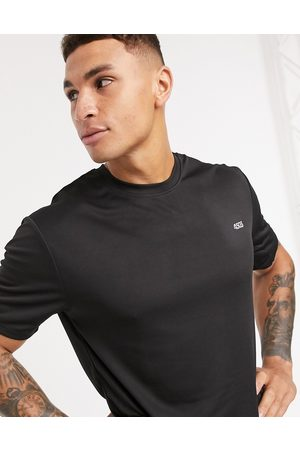 ASOS Icon easy fit training t-shirt with quick dry in black