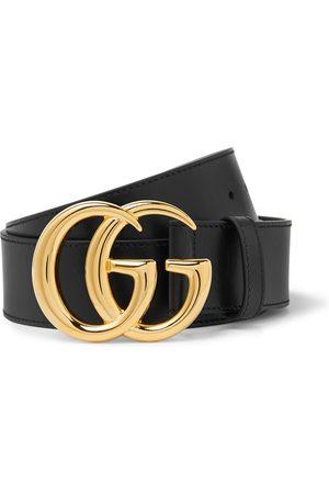 GUCCI Homem Cintos - 4cm Marmont Leather Belt