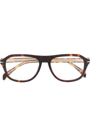 DB EYEWEAR BY DAVID BECKHAM Homem Óculos de Sol - Tortoiseshell rounded frame glasses